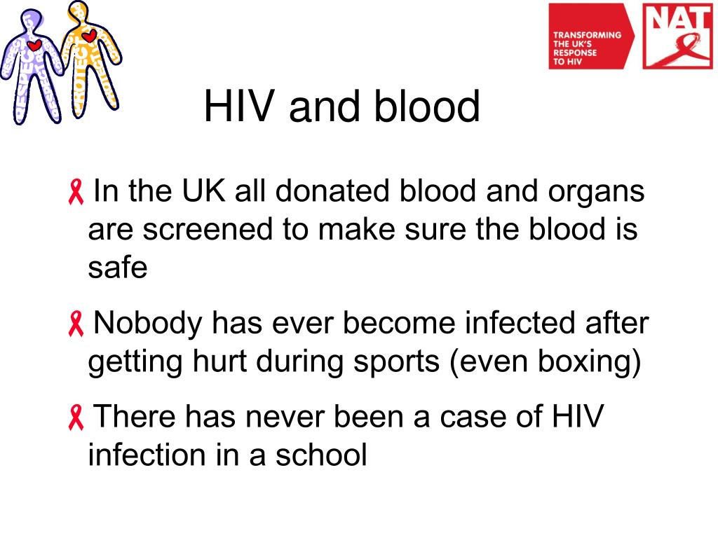 HIV and blood