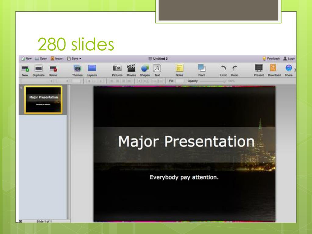 280 slides