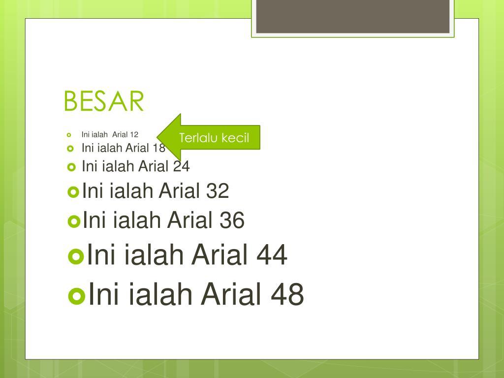 BESAR