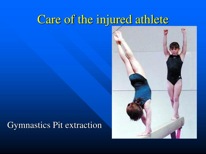 Gymnastics pit extraction