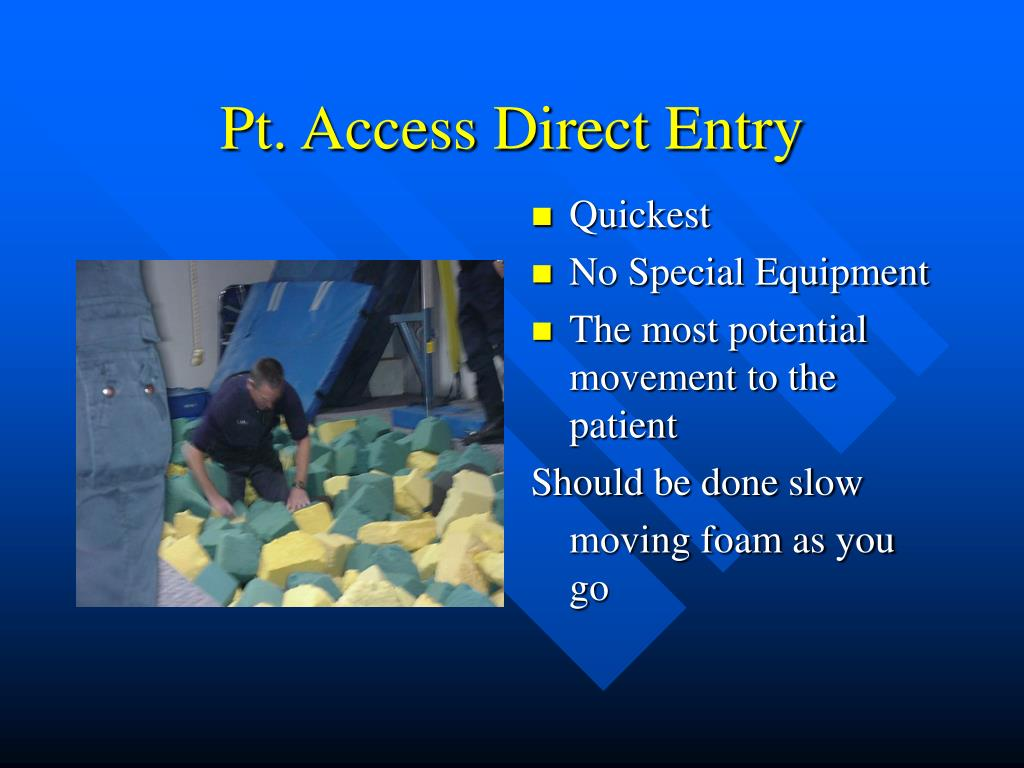 Pt. Access Direct Entry