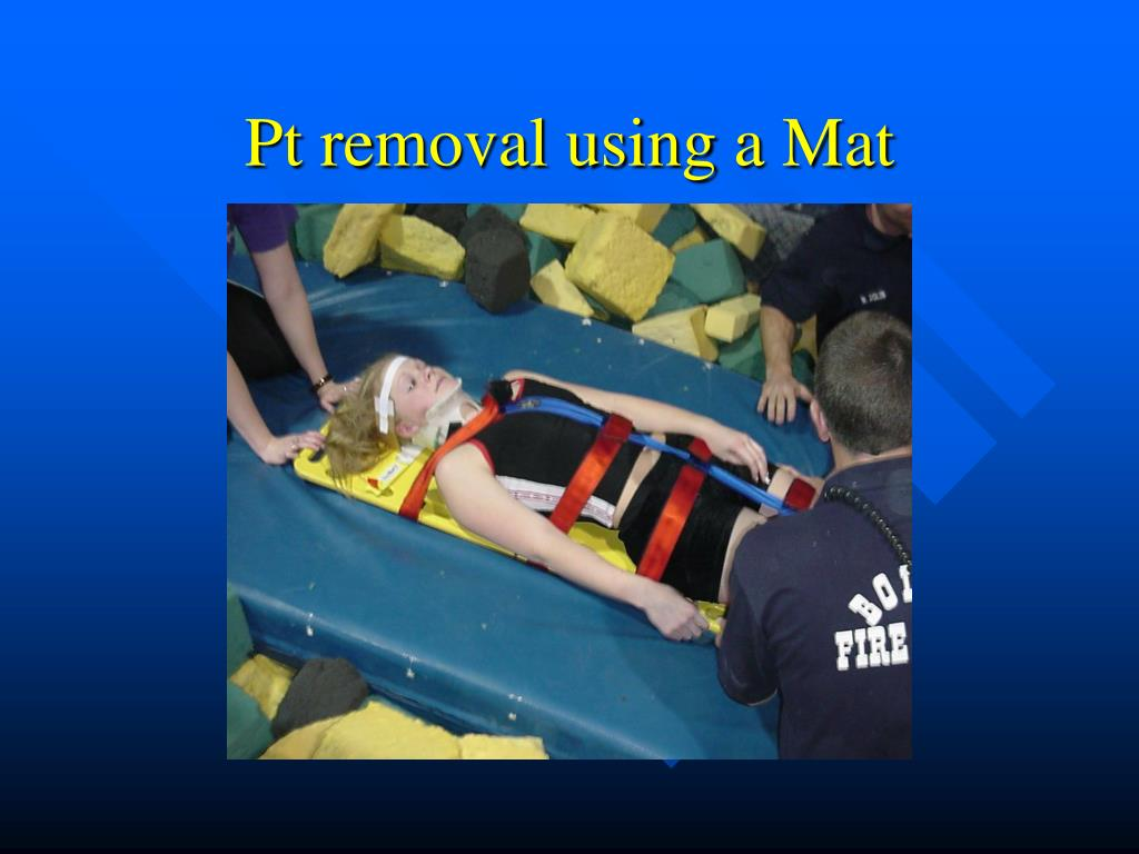 Pt removal using a Mat