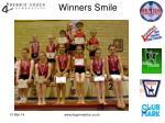 winners smile