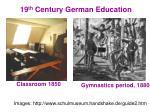 19 th century german education