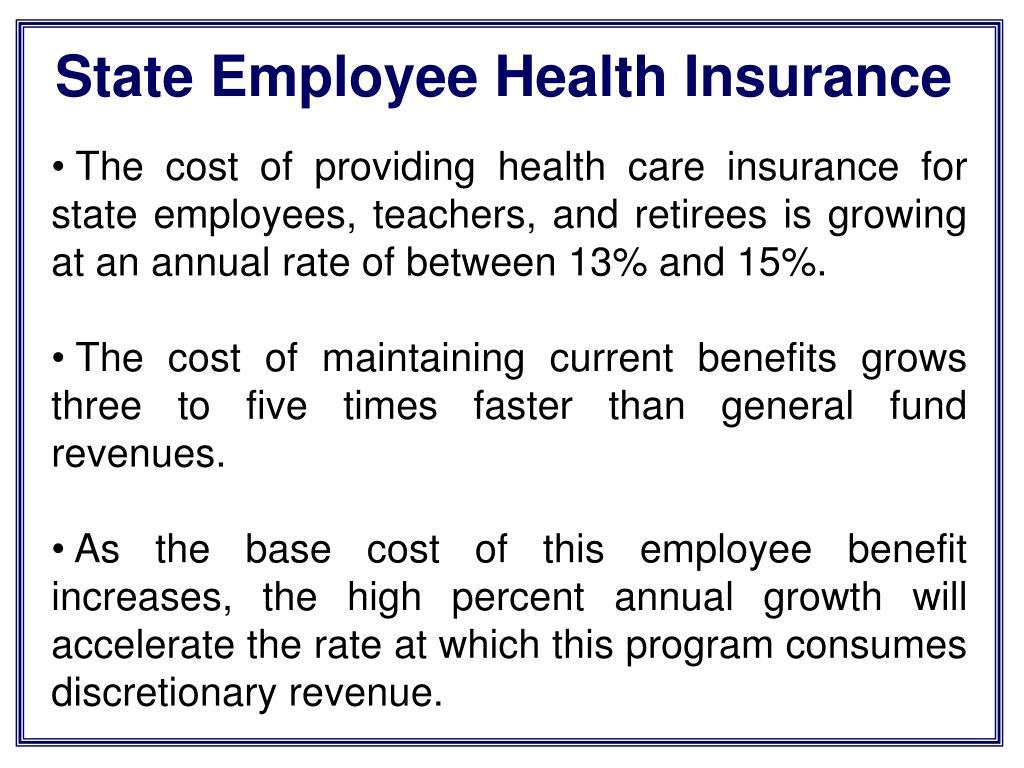 State Employee Health Insurance