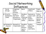 social networking influences