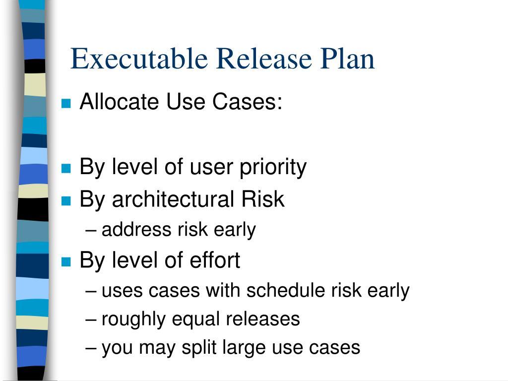 Allocate Use Cases: