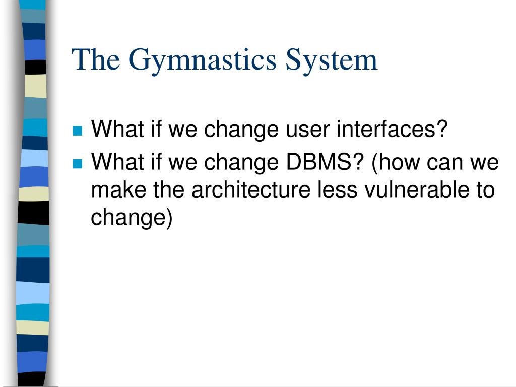 What if we change user interfaces?