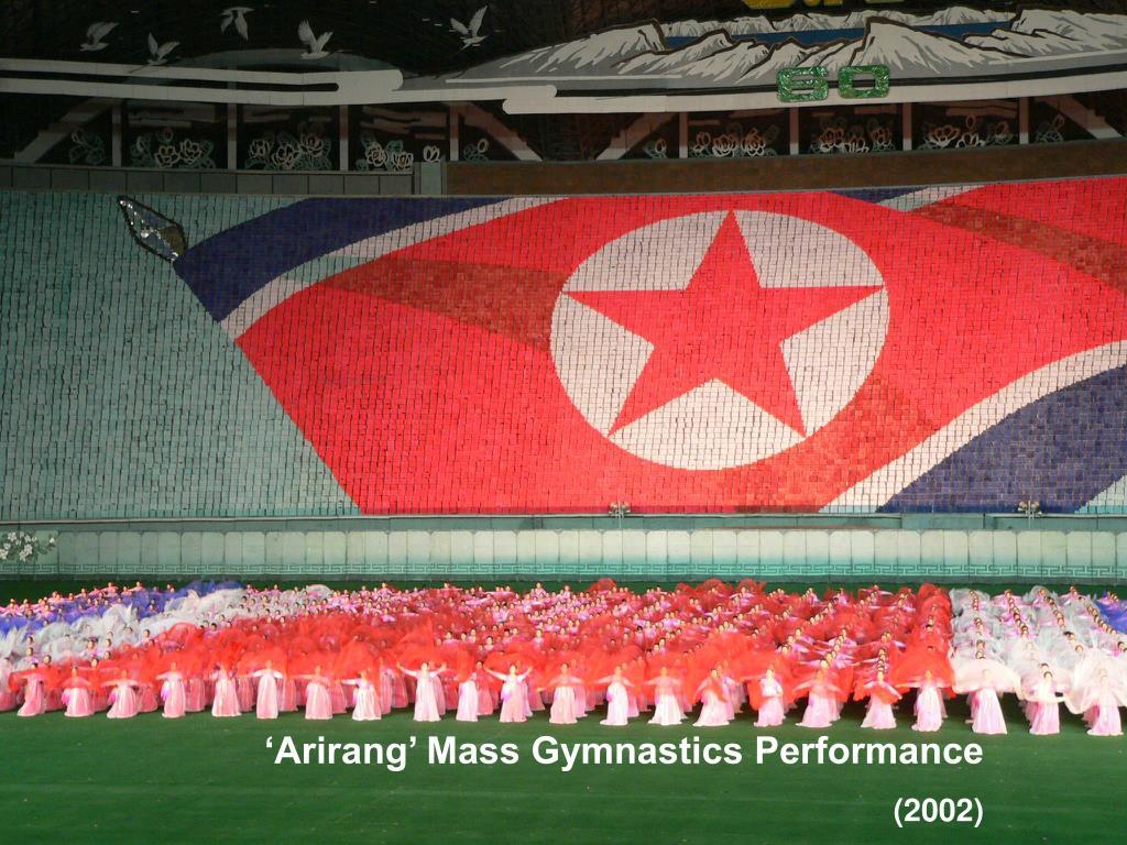 'Arirang' Mass Gymnastics Performance