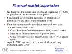 financial market supervision
