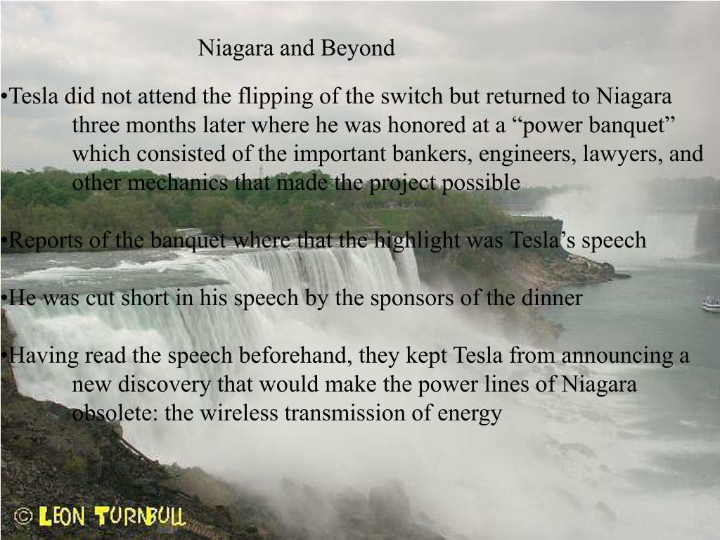 Niagara and Beyond