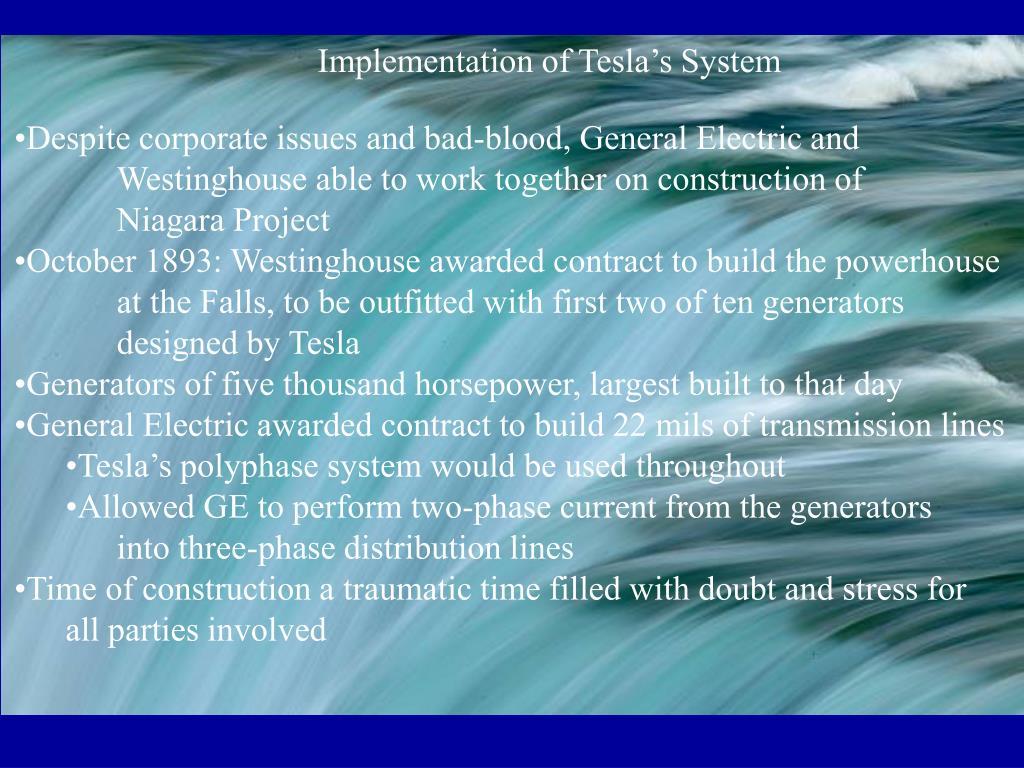 Implementation of Tesla's System