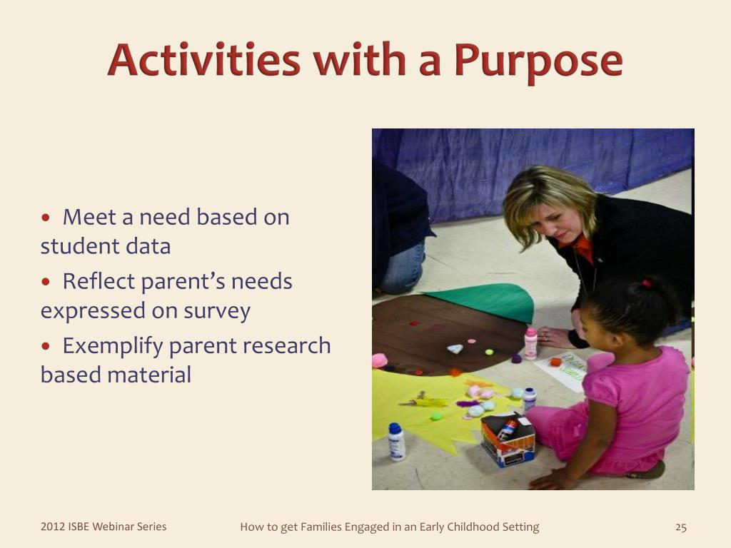 Meet a need based on      student data