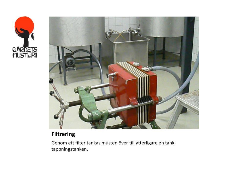 Filtrering