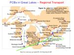 pcbs in great lakes regional transport