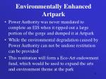 environmentally enhanced artpark