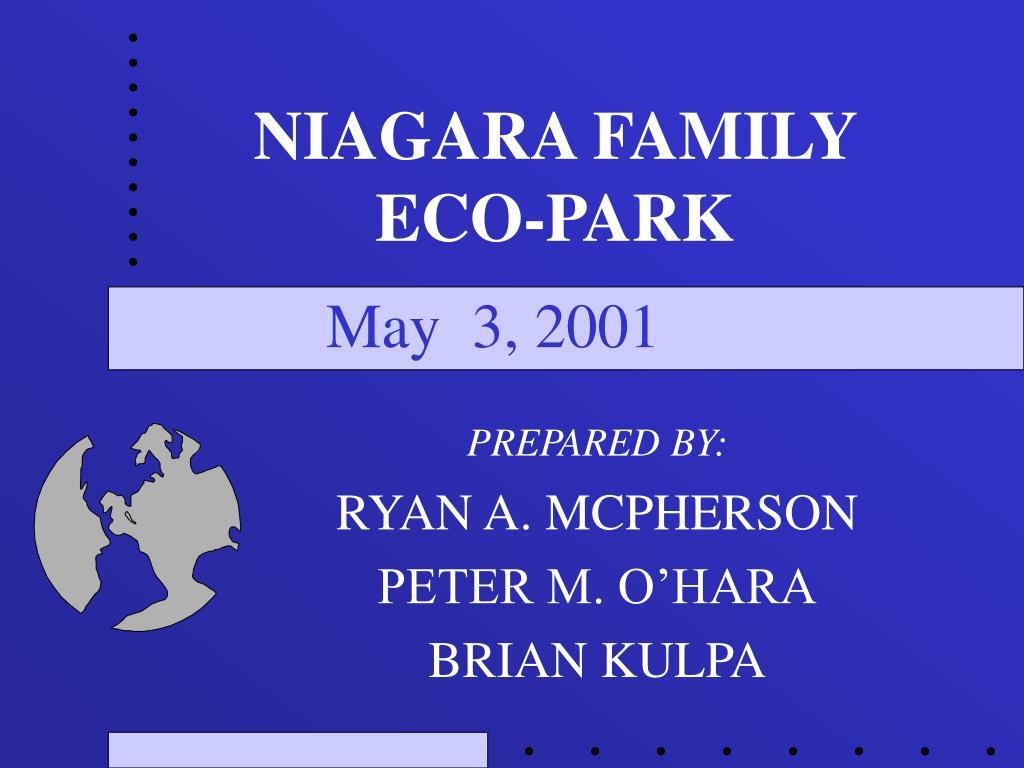niagara family eco park l.