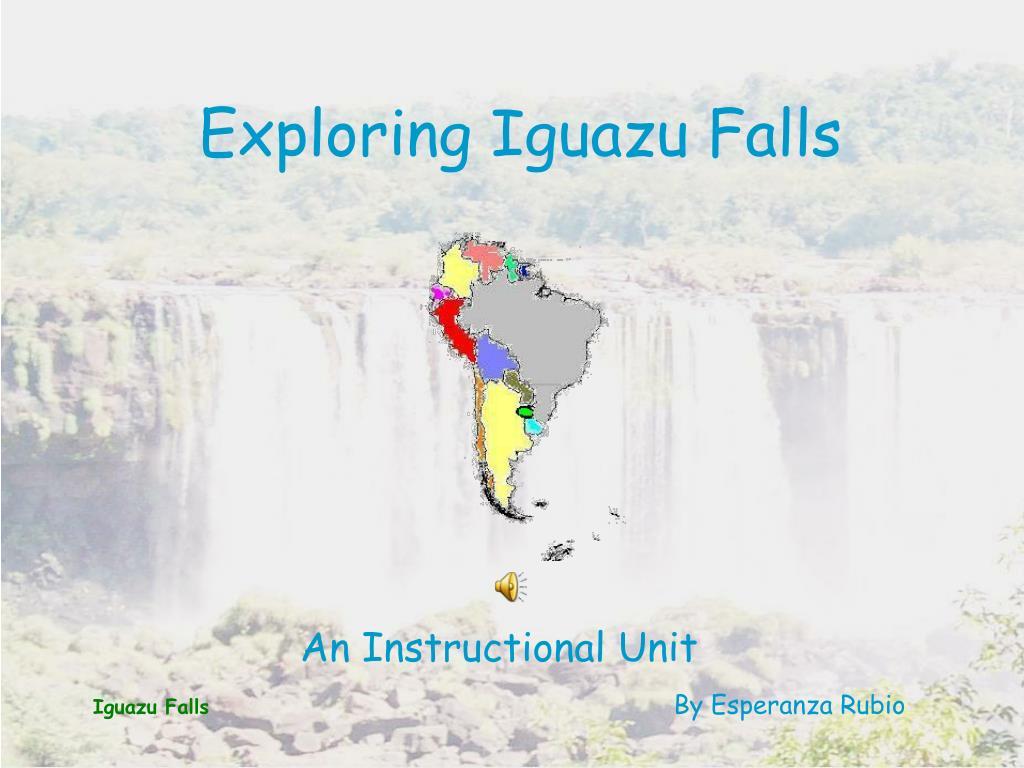 exploring iguazu falls l.