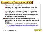 properties of transactions acid