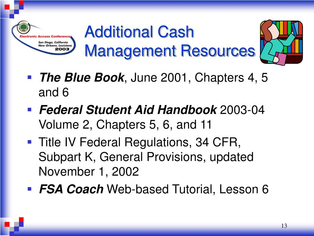 Additional Cash Management Resources