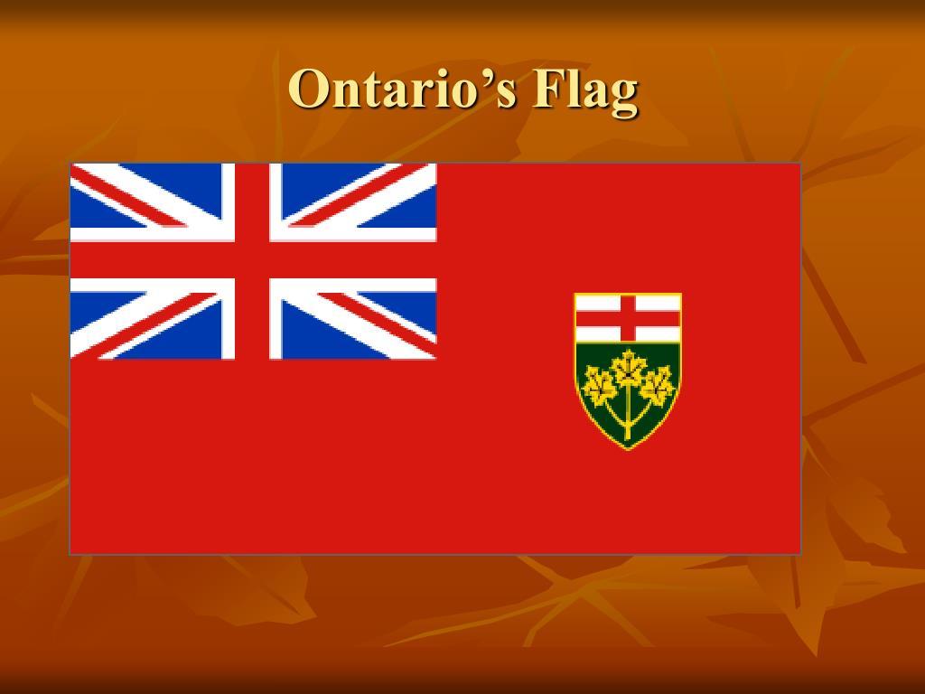 Ontario's Flag