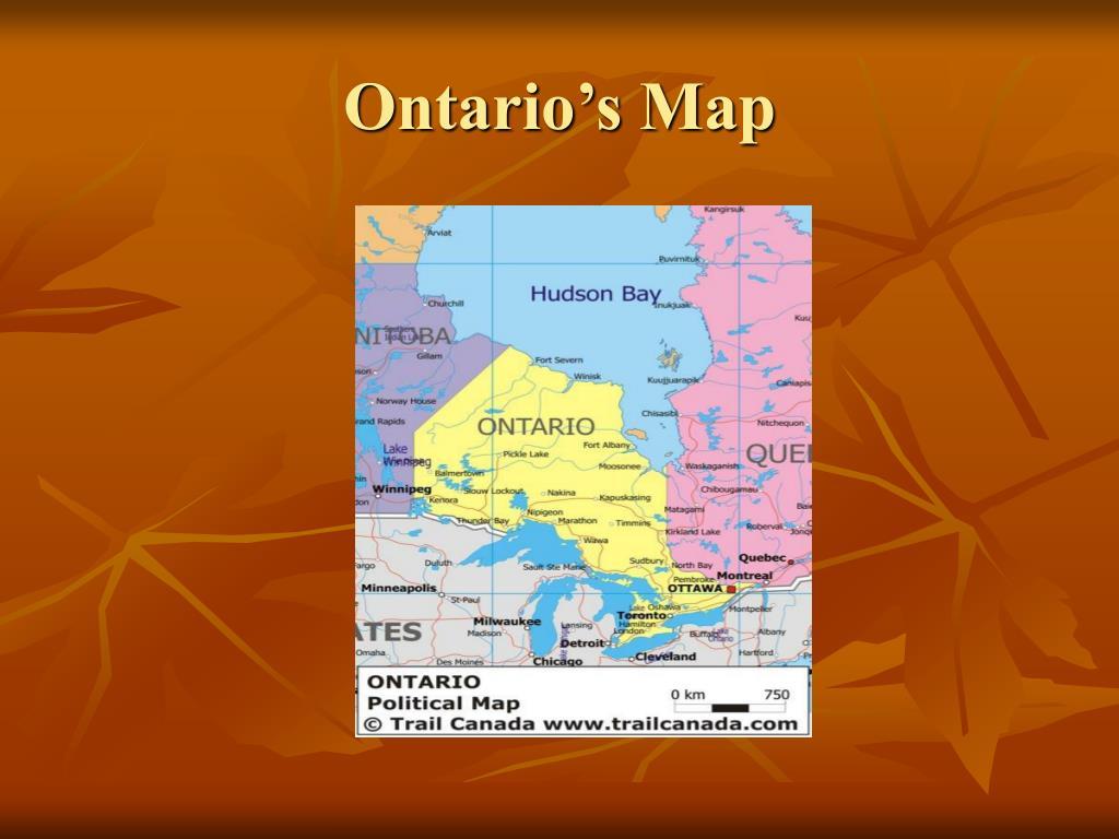 Ontario's Map