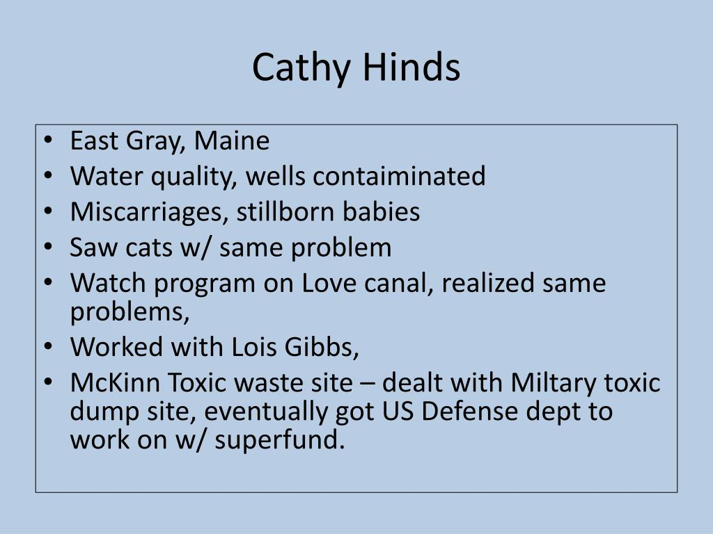 Cathy Hinds