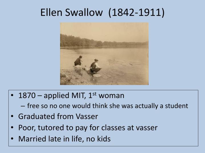 Ellen swallow 1842 1911
