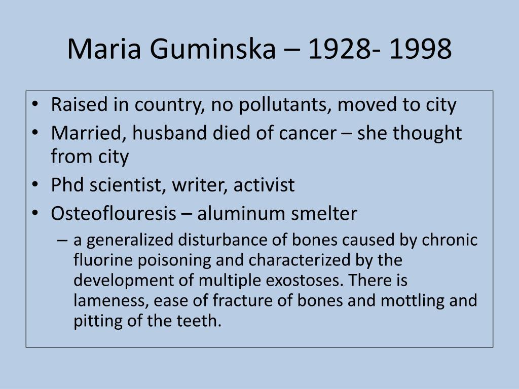 Maria Guminska – 1928- 1998