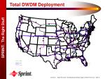 total dwdm deployment