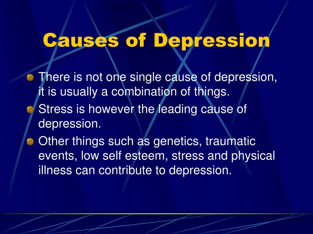 Causes of Depression