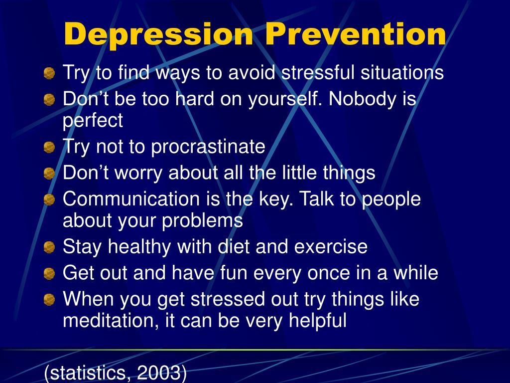 Depression Prevention