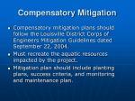 compensatory mitigation26