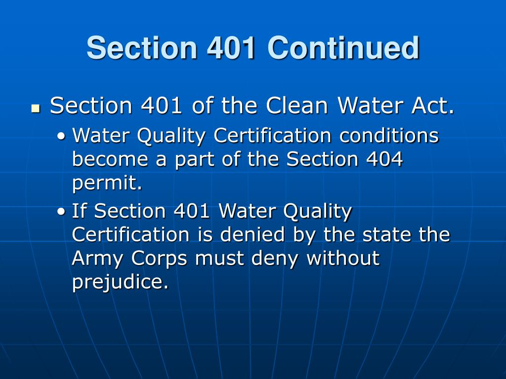 PPT - Water Quality Certification Program PowerPoint ...