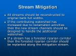 stream mitigation44
