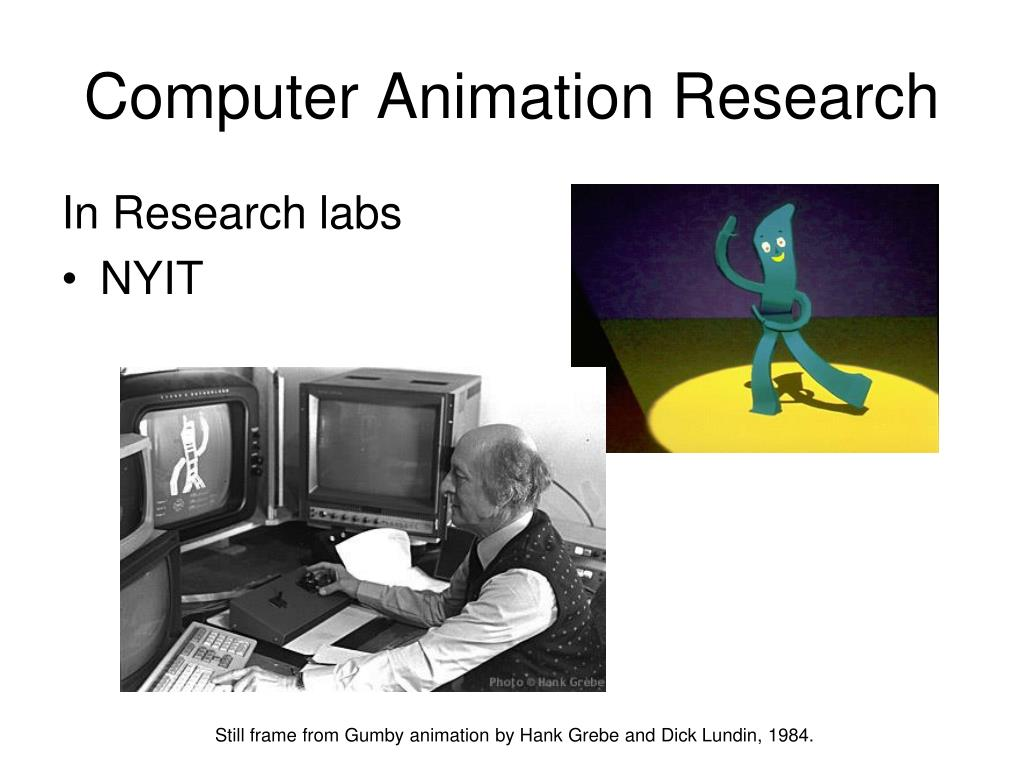 Computer Animation Research