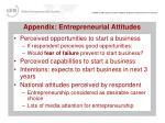 appendix entrepreneurial attitudes