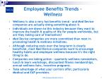 employee benefits trends wellness