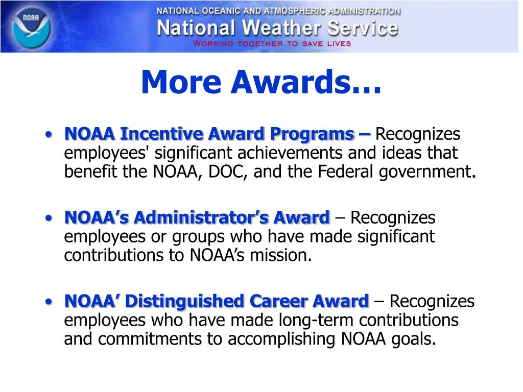 More Awards…