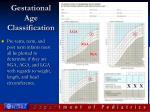 gestational age classification
