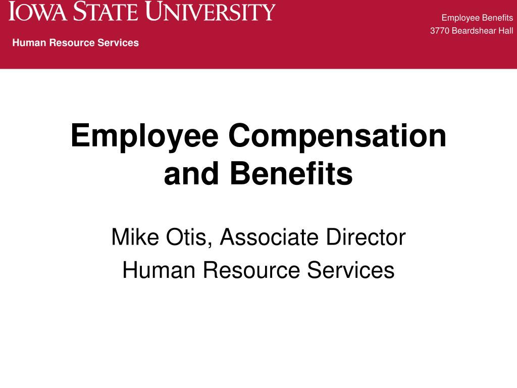 employee compensation and benefits l.