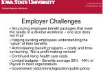 employer challenges