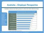 australia employer perspective