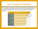 india employer perspective