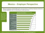 mexico employer perspective