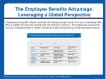 the employee benefits advantage leveraging a global perspective5