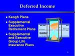 deferred income18