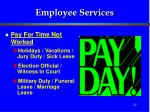 employee services22