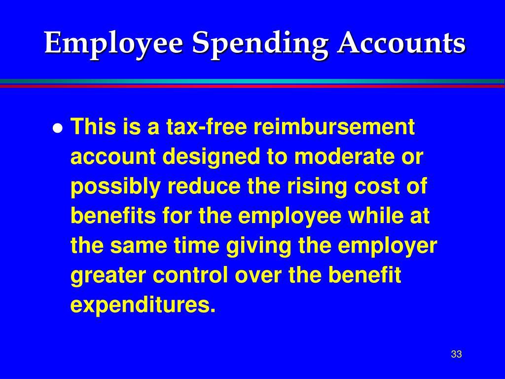 Employee Spending Accounts