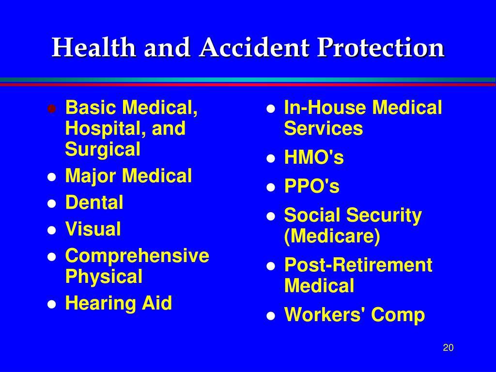Basic Medical, Hospital, and Surgical